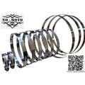 可調式 固定夾 膠管夾 水管夾 喉箍 卡扣 水管卡扣 軟管管夾 304 不銹鋼 管束白鐵束環(1組2個)