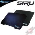 PC PARTY 德國冰豹 ROCCAT Siru 塑膠 滑鼠墊 超薄0.45mm 藍 黑