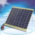 12V 5W太陽能電池板汽車電池充電器電源