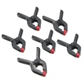 6x A Type Background Clips Stand Clamps For Photo Studio Light Backdrop Support