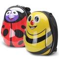 兒童背包-可愛卡通幼兒園兒童發光蛋殼書包硬殼背包小學生女孩男孩1-6歲N17 型男部落