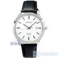 【錶飾精品】SEIKO手錶 SGEH43P1 精工表 藍寶石鏡面 黑色皮帶男錶 全新原廠正品