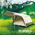 【TURBO TENT】TURBO Lite300 專利快速帳 8人帳 一房一廳