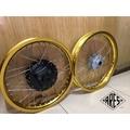【ARES】窄胎版本 Ktr 原廠尺寸 18-1.85J 17-1.85J   陽極金鋁合金鋼絲框 不鏽鋼鋼絲9番加粗
