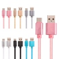 Bakeey 2.1A Braided Type C Charging Data Phone Cable 0.25m For OnePlus5t Xiaomi Redmi 5Plus Huawei M