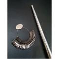 DIY量測專用工具 金屬公制圍戒圍棒 指圍棒+金屬公制圍戒圈