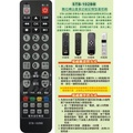 bbTV.中嘉bb寬頻數位機上盒遙控器適用吉隆.長德麗冠萬象.家和 新視波 數位天空 北健有線電視數位機上盒遙控器STB-102BB
