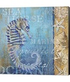 Sea Horse and Sea by Art Licensing Studio Canvas Art