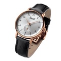 ARBUTUS ANALOG AR804RWB STAINLESS STEEL ROSE GOLD UNISEX WATCH