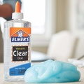 Elmer's Clear School Glue, No.1 Slime making glue, Big bottle 266ml