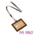 MI PIACI-JET系列證件套皮款橫式-駝色1686005
