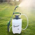 澆花噴壺5L手動氣壓式農用噴霧器高壓噴壺園藝農藥灑水噴水壺洗車QM   西城故事