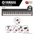 Official Seller - Yamaha P-125 Digital Piano (Black) Keyboard Only - With X-Stand, X-Bench & Piano Dust Cover - Digital Piano Sale - Yamaha P 125 - Black - 88 Piano Keys