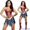 神力女超人服裝 神力女超人 萬聖節衣服 聖誕節服裝 角色扮演 COSPLAY 神力女超人衣服