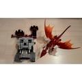 不拆賣已組裝Lego 7093城堡+樂高龍