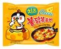 【Samyang 三養】火辣雞肉起司風味鐵板炒麵