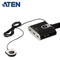 【ATEN 宏正】2埠 USB HDMI KVM 多電腦切換器 (CS692)