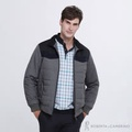 ROBERTA諾貝達 帥氣型男 內裡鋪棉夾克外套 灰色