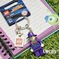 [正版]LEGO 樂高鑰匙圈 自殺突擊隊 DC英雄 蝙蝠俠 小丑 人偶鑰匙圈 鎖圈 吊飾 COCOS FG280