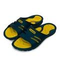 【DIADORA】 基本款時尚輕量拖鞋 海灘拖鞋 室內、外拖鞋 深藍黃 5316 男