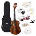 ENYA Enya EUT-70 Tenor ukulele with String, Tuner, Strap,Fingershaker,Gig bag,Capo,Picks,Polishing c
