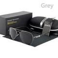 HDCRAFTER ผู้ชายแว่นตาโพลาไรซ์กันแดด DRIVER แว่นตากันแดด Retro แฟชั่นแว่นกันแดดโพ