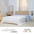 HAPPYHOME 伊芳床片型3件房間組-床片+掀床+鏡台1WG5-36O+ZU5-7TCR二色可選-不含床墊-床頭櫃