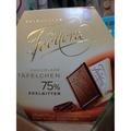 新貨到 德國 Feodora 巧克力 75%/60% 賭神黑巧克力 225G/盒(30片) ~