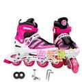 溜冰鞋兒童 成人男女直排輪輪滑鞋旱冰鞋滑冰鞋可調閃光輪N17 型男原創館