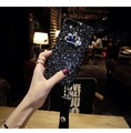 Luxury Crystal Crown Bling Cases For Oppo R11s Plus Crystal Hand Band Glitter Powder Hard PC Phone Cases For Oppo R11s Plus Covers Hard Case