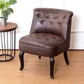 Bernice-班尼頓美式復古風仿舊皮沙發單人座椅