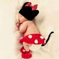 寶寶造型服~米妮(件組)造型服(現貨)☆║團拍║攝影║嬰兒寫真║☆