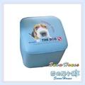 ╭☆雪之屋居家生活館☆╯P127-09 大頭狗四方椅-藍 /兒童沙發/小沙發/休閒椅/和室椅/造型椅