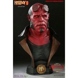 (現貨提供戴先生下標專用)Sideshow 台灣獨家代理BenToy 推薦電影地獄怪客II (HellBoyII)之1比1半身雕像SC-8935