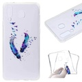 Samsung Galaxy A8 Star Case, Beautiful Pattern Ultra Thin Soft TPU Gel Silicone Protective Back Case Cover for Samsung Galaxy A8 Star (MT-8)