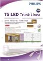 หลอดไฟ Philips LED T5 Trunklinea 13W  120cm. แสงวอร์มไวท์ 3000K