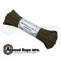 詮國 Atwood Rope 美國專業傘繩 -棕色傘繩 / 100呎 -S07-BROWN