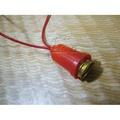 【龍柱量販百貨】 E12 燈頭 燈座 2W燈泡用 神明燈頭 小夜燈 燈籠燈 線長37公分 [2005020201]