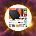 Mi BOX 2019 Xiaomi MI BOX Streaming Media Player Android TV 8.1 Quad Core 64Bit Set-top Box support Yotube Nexfilx 4K Vedio DTS and Dolby