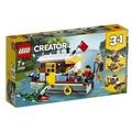 【LEGO樂高】3合1創作系列 31093 河邊船屋