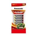 Panasonic 大電流紅鹼電池4號12+2入