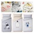 【PRIELLE】嬰幼兒可愛動物睡袋組 prielle / ALLER BLOCK防蹣睡袋