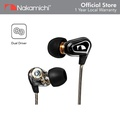 Nakamichi MV18 Dual Driver In-Ear Earphones With Mic