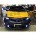 (小鳥的店) 豐田 PRIUS a 阿發 日行燈 方向燈 小燈 LED DRL ALTIS WISH YARIS T20