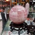 粉水晶球8.6公斤