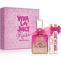 Juicy Couture Viva La Juicy Rose 香氛禮盒(淡香精100ml+10ml+蝴蝶結淡香精10ml)-送品牌紙袋