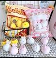 【一大袋櫻花兔子餅抱枕】日本櫻花兔造型抱枕 八隻小兔布丁公仔 IG網美必備 【狂麥市集】