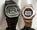 戀人們的G打擊一對表G-SHOCK BABY-G一對手錶電波太陽能卡西歐2瓶一套g打擊嬰兒g GMW-B5000GD-1JF BGD-1300D-4JF人氣包免費聖誕節 Jewelry time Murata of watch