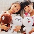 美麗大街【10305102701】可愛表情 熊大 饅頭人 兔兔款12吋公仔玩偶