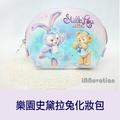iNNovation 日本迪士尼樂園史黛拉兔造型皮革化妝包